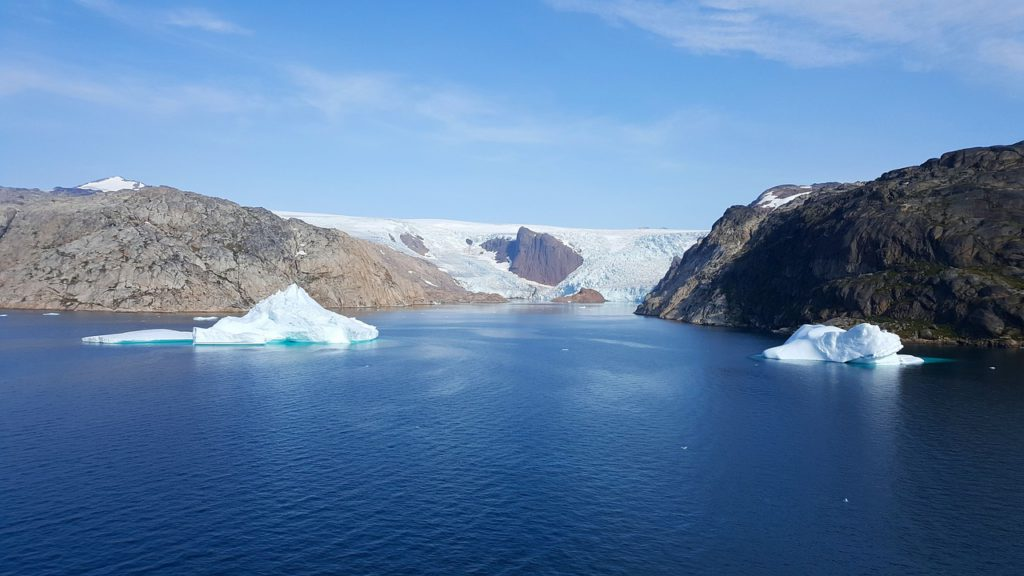 Челлендж 2009 vs 2019: что произошло с ледником в Гренландии