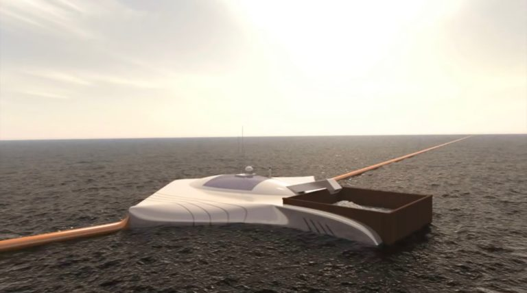 The Ocean Cleanup announced the successful testing of the device for the collection of garbage in the ocean