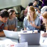 Проводим эко-блок на конференции молодых ученых в Шанинке